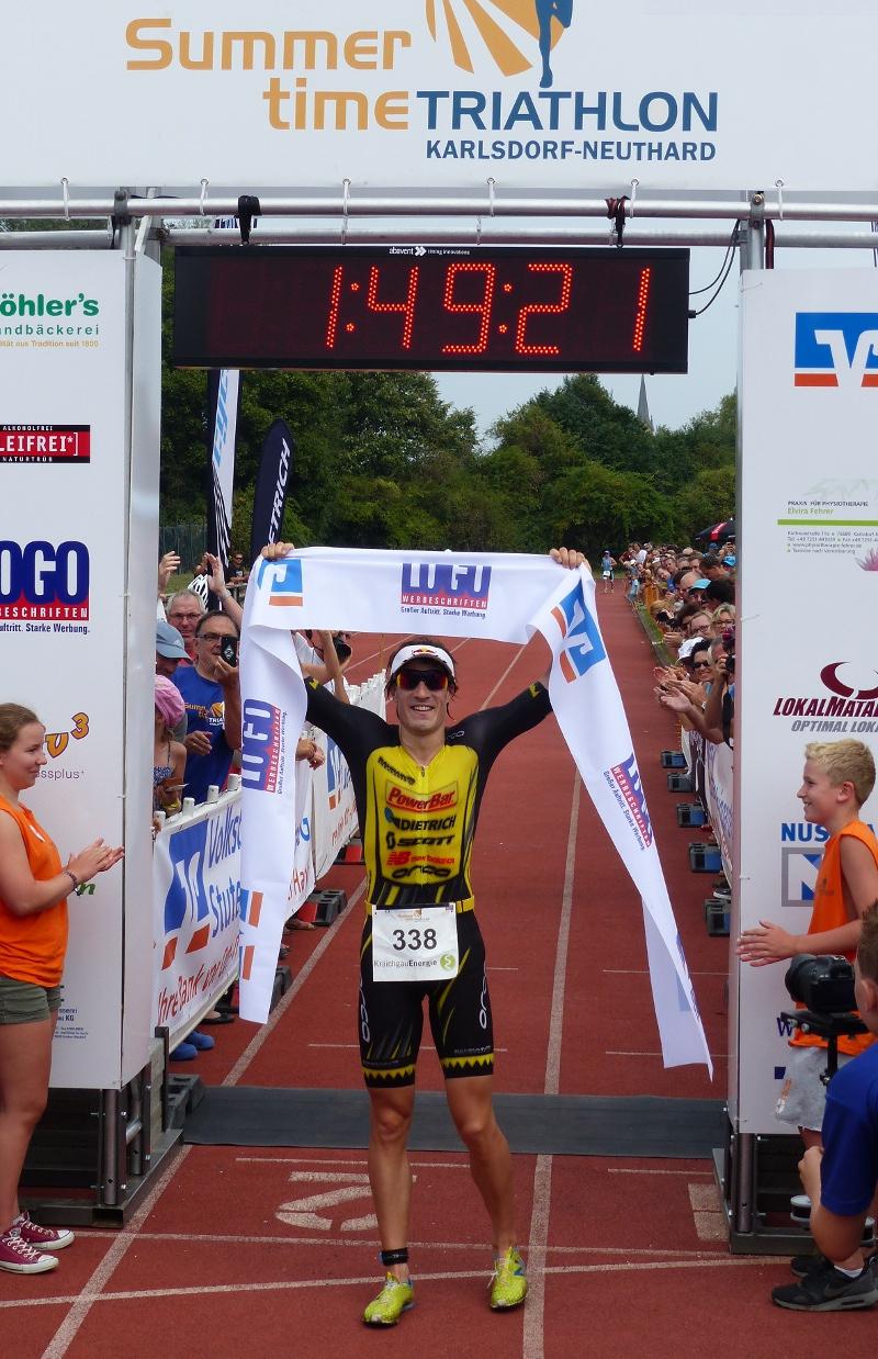 Bei den BaWü-Meisterschaften 2015 an gleicher Stelle triumphierte Sebastian Kienle. (Foto: Peter Mayerlen)
