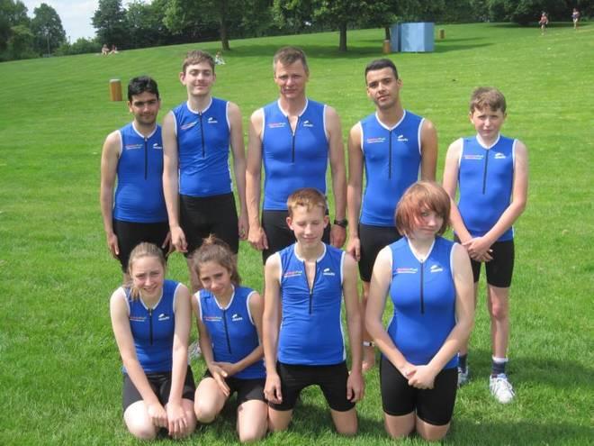 Triathleten der Uhlandsförderschule Pfullingen