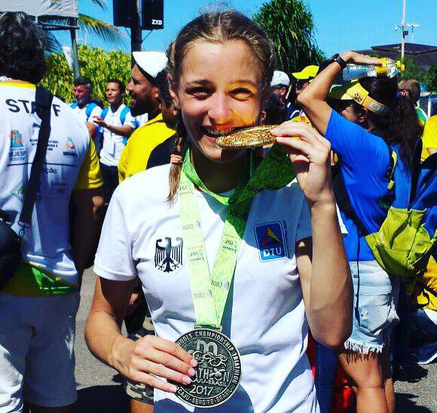 Helen Scheffold wird JTFO-Weltmeisterin (Foto: JTFO)