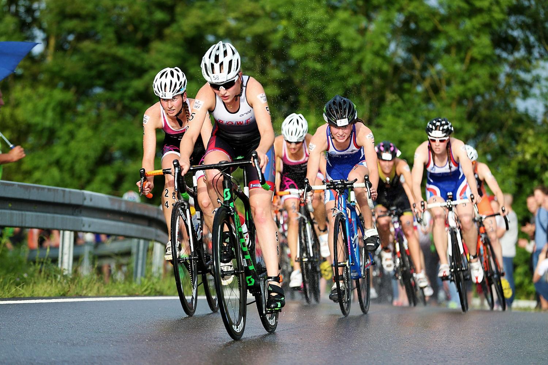 Heute startet die 1. Bitburger 0,0% Triathlon-Bundesliga im Kraichgau mit dem Frauenrennen. (Foto: DTU/ Ingo Kutsche)