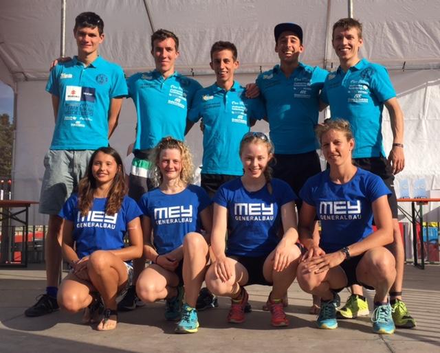Team Nikar Heidelberg und Mey Post-SV Tübingen beim Wettkampf der 2. Bundesliga Süd am Rothsee  (Foto: Oliver Grimm)