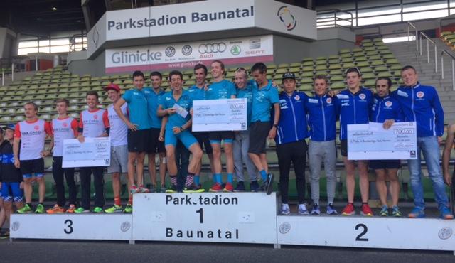 Team Nikar Heidelberg ist Meister der 2. Triathlon-Bundesliga Süd. (Foto: Frederic Giloy | frdrcgl)