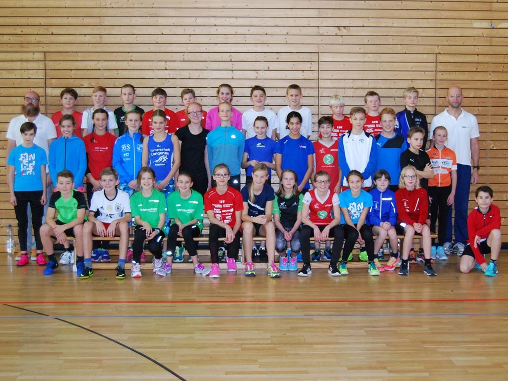 Zufriedene Teilnehmerinnen und Teilnehmer der BWTV-Sichtung in Heidelberg .