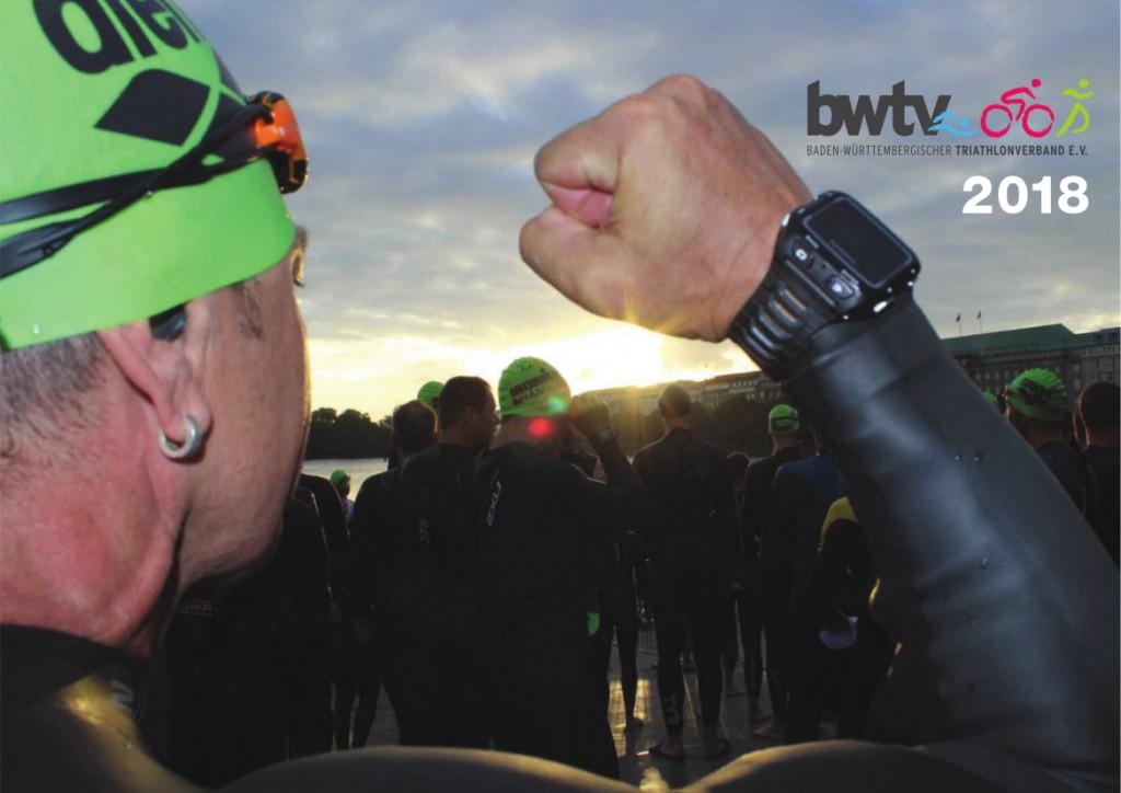 Titelfoto des BWTV Triathlonkalenders 2018. Foto: Roland Braxmaier